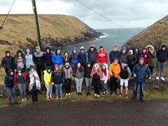 Turas na hIdirbhliana chuig Gaeltacht Chorca Dhuibhne / Transition Year Trip to Gaeltacht Chorca Dhuibhne