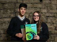 Students of Pobalscoil na Tríonóide in Youghal win National Press Pass Awards