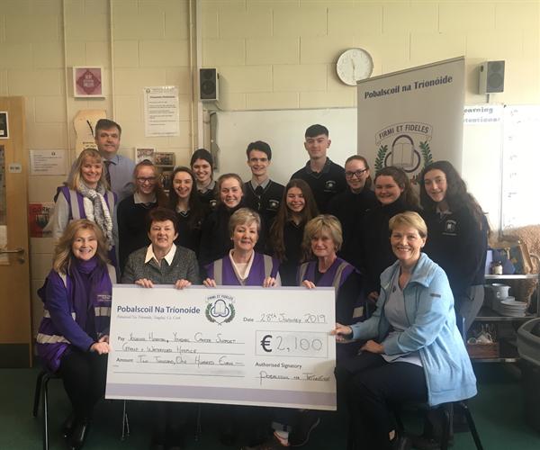 Festival non-uniform day raises €2100 for local charities