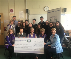 Festival non-uniform day raises €2100 for local charities