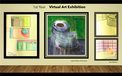 1st Year Virtual Art Exhibition