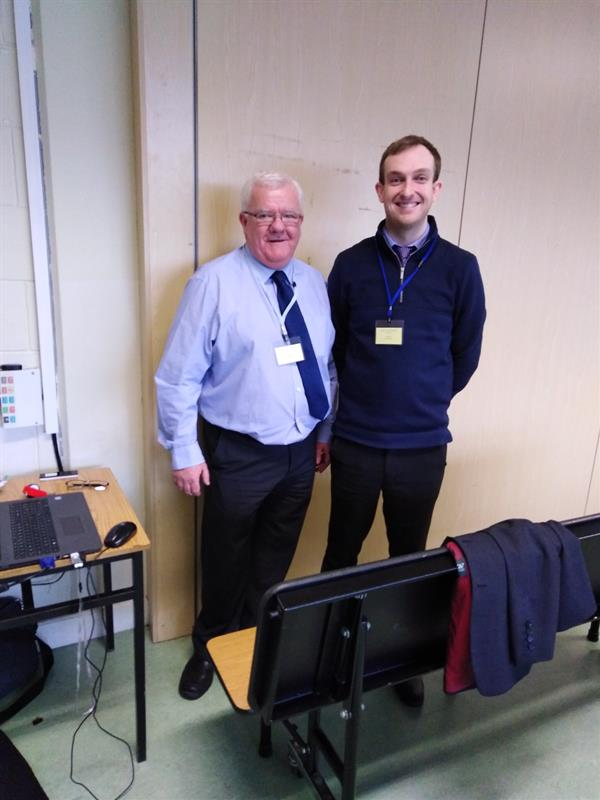 Youghal Credit Union Manager volunteering